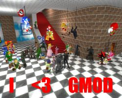 I LOVE GMOD by shirowantami