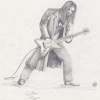 Guitar Player by Artlander