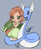 Lady Haylinn With Dragonair by slinkysis3