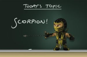 Todays Topic - Scorpion by akiftop