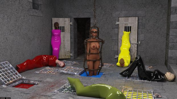 Latex Dungeon Increased Confinement by reedsabc