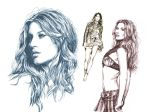 Gisele Bundchen by maddrawings