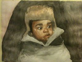 4 april 2013 - watercolour sketch by LutherTaylor