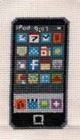 The iStitch iPod X-Stitch by Shellfx
