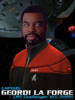 Captain Geordi LaForge in STO by ShVagYeR