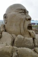 Sand Sculpting European Championship 2014 by dunklerfruehling