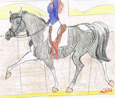 Training for the Olympics Dressage by tangledwoods