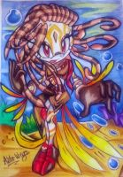 AT: Niv the Lionfish by Astro-Wingz