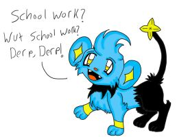 Schoolwork Shinx by Cappies