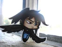 Fang Chibi Keychain by ScarecrowArtist