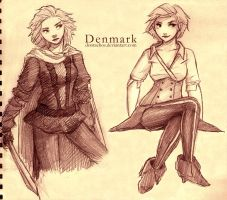 APH: FemDenmark now and thenxD by dontachos