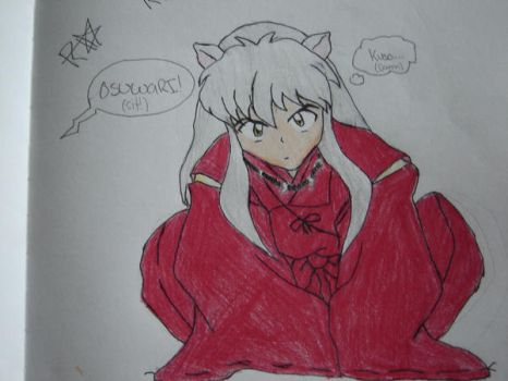 Annoyed Inuyasha by ninjagirl999
