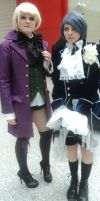 Trancy or Phantomhive : MCM london 27/10/12 by Animenoheihokon
