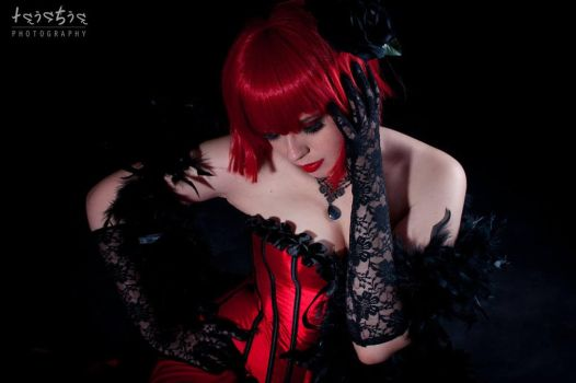 Madame Red - Fade to black by sumyuna