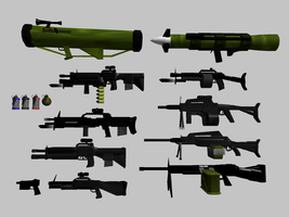 Standard Infantry Weapons by SpartaN-PhoeniX