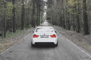 Autumn photoset of Slammed BMW E90 8 by BlackSelf91