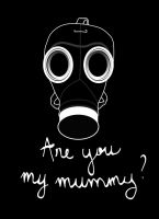 Doctor Who - Are you my mummy ? SOCIETY6+REDBUBBLE by LeslieProngue