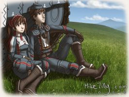 Valkyria Chronicles fanart by HertzaHaeon