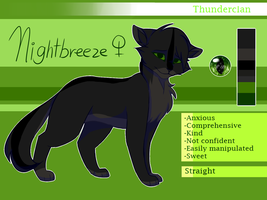 Nightbreeze - Ref. Sheet by melo3001