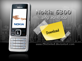 Nokia 6300 icons by OloUnited