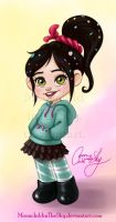 Vanellope by MoonchildinTheSky
