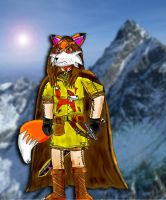 Lucarian the Fox warrior by Luke-the-F0x