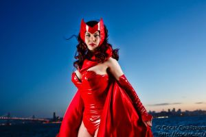Scarlet Witch: Dusk by ocwajbaum