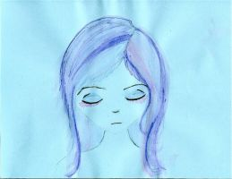 The Blue Girl by allyalltheway