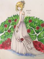 Megan Wedding Dress by fleesveon