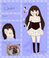 The Candy Jar App: Ciasto by Togamicchi