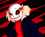 Underfell Sans by reina-del-caos