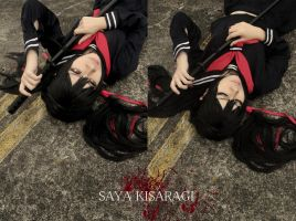 Blood C:The Last Dark - Kisaragi Saya by EatEatEats