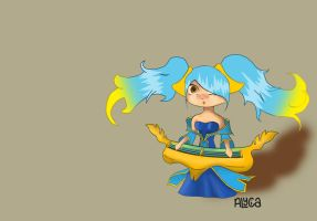 Sona, The Maven of the Strings by xXLushieXx