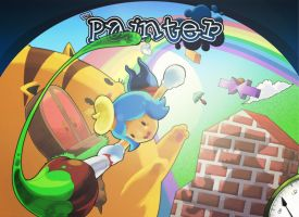 The Painter Titlescreen Alpha by Pokekoks