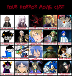 Horror Movie Meme- Mixed by Foxflower-Zorra