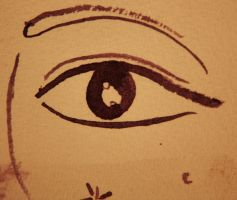 Ink eye by Carolinel3