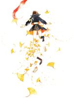Dive in autumn by muttiy