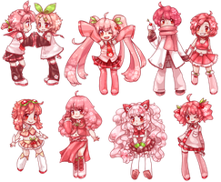 all vocaloids became pink by Next--LVL