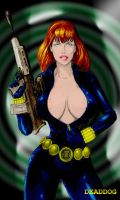 MOYLES' BLACK WIDOW by DeadDog2007