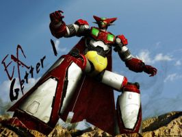 Ex Getter Robot 1 3D by the-newKid