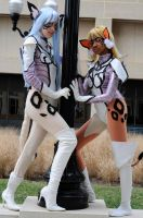 Nariya and Eriya - Escaflowne by popecerebus