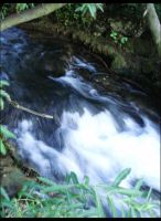 Small Waterfall by KissOnTheRain
