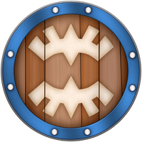 SS Banded Shield by BLUEamnesiac