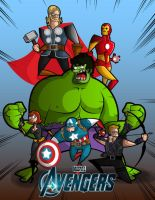 The Avengers by kungfumonkey