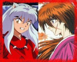 Inuyasha y Kenshin by 3D4D