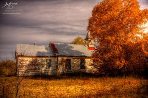 HDR Autumn Church 2 by Nebey
