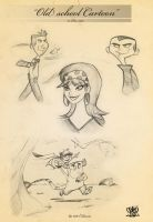 Sketch book toons by celaoxxx