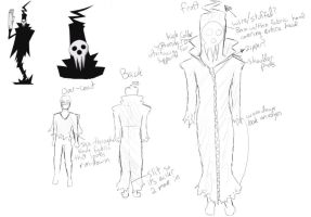 Shinigami cosplay layout by rainhorse