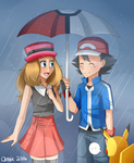 It's Raining by Haruka-15