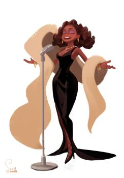 Whitney Houston by soonsang